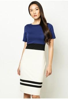 Estelle Colorblock Dress
