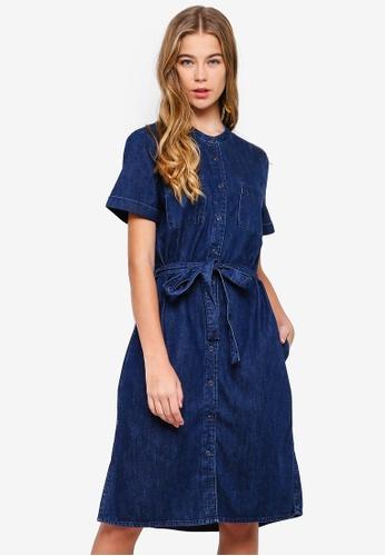 57dc8e559ffb1 Shop ESPRIT Denim Dress Online on ZALORA Philippines