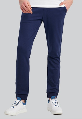 FILA navy Special Line Cotton Pant 379EFAA7943EE2GS_1