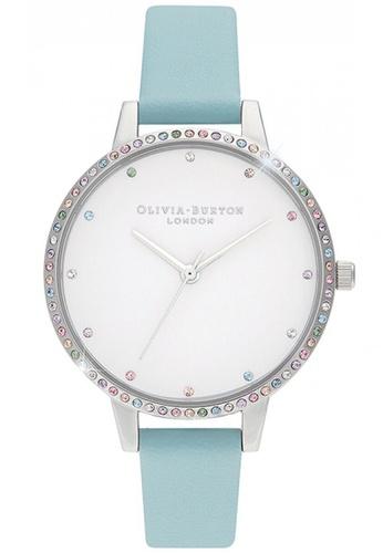 Olivia Burton silver Olivia Burton Rainbow TURQUOISE Women's Watch (OB16RB19) EF3C9ACCC70B2EGS_1