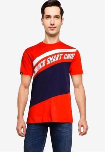 Volkswagen 紅色 品牌印花T恤 68EA9AA1B7D5A8GS_1