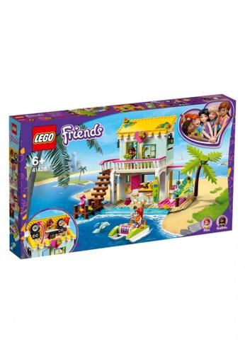 LEGO multi LEGO Friends 41428 Beach House (444 Pieces) 698C8THC8972E2GS_1