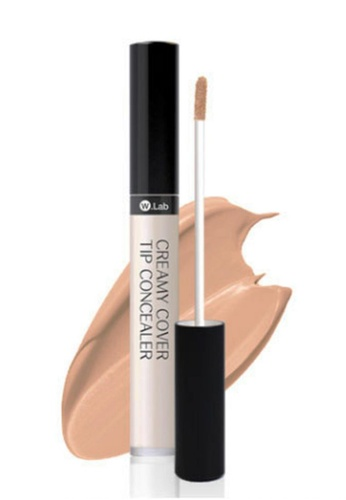 W.Lab beige Creamy Cover Tip Concealer 23. Natural Beige WL257BE66CHPSG_1