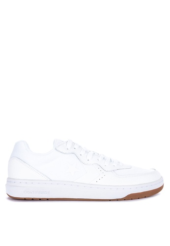 Converse white Rival Leather Sneakers B8A3DSH0982CB8GS_1
