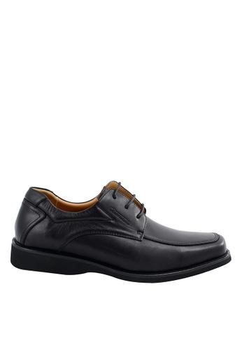 Obermain black Obermain Men's Bendigo Loafer Lace Up- Black 77A72SHC08656BGS_1
