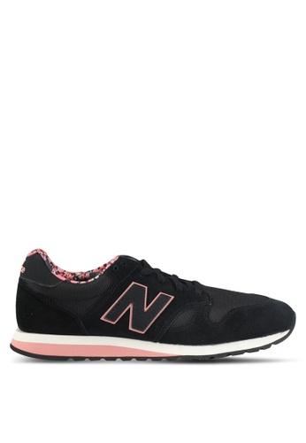 New Balance black 520 Floral Pack Lifestyle Sneakers NE323SH0SXNQMY_1