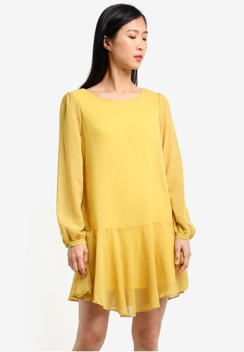 Glamorous yellow Ladies Tunic GL059AA0RZ4EMY_1