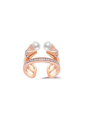 Pearly Lustre Pearly Lustre New Yorker Freshwater Pearl Ring WR00013 46EB8AC4A53705GS_1