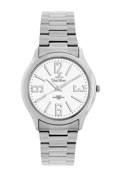 Unisilver TIME Men's Lief Watch KW564 -1101 Silver/off-White