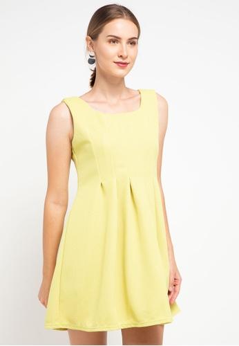 CHANIRA LA PAREZZA yellow Chanira La Parezza Lauryn Dress 4A94FAA8E01A82GS_1