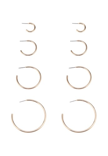 ONLY gold Paxa Multipack Earrings E1094AC1A83A23GS_1