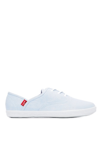 Life8 blue Lace-Up Candy Series Casual Shoes Slip-Ons -09680-Light Blue LI283SH0FT4ZSG_1
