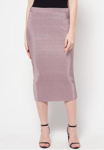 Raspberry blue Layla Midi Skirts RA572AA81OUOID_1