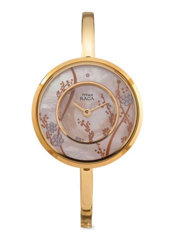 2541YM01 印花不銹鋼手錶, 錶esprit 香港類, 淑女錶