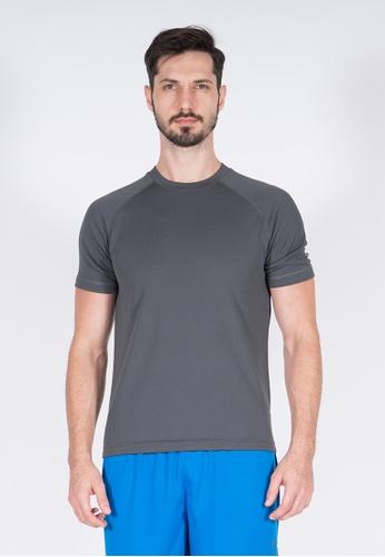 AMNIG grey Amnig Men Training Raglan T-Shirt (Dark Grey) 3839DAA56B9B6FGS_1