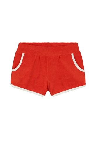 Shiwi red Terry Shorts 7EEA1KA165B15FGS_1