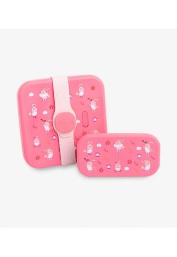 Viida [VIIDA] The Joy Series Karrie Stainless Steel Lunch Box Set (2-in-1) Bella Pink, with Leak-proof lid - LFGB Germany Certified Safe 2901DHL1667753GS_1