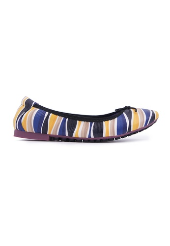Flatss & Heelss by Rad Russel yellow Colourful Patterned Flats - Yellow A7232SH848A049GS_1