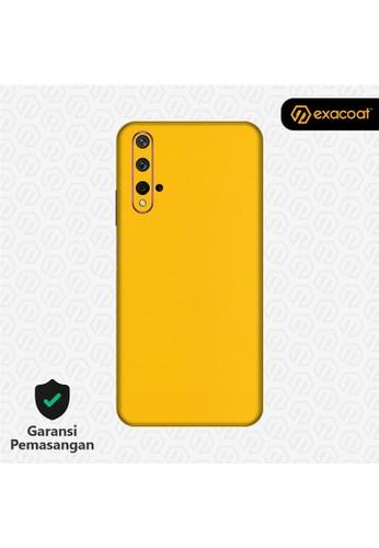 Exacoat Huawei Nova 5T 3M Skins True Colors - Lemon Yellow 113AEESEDED89BGS_1