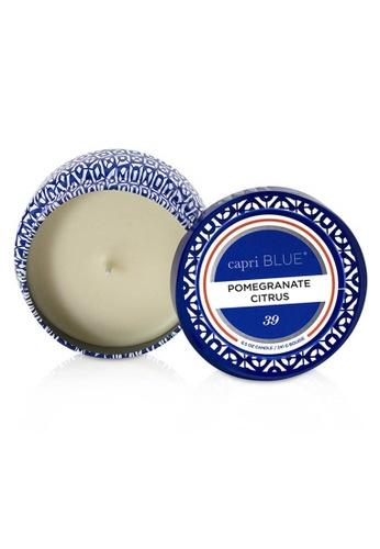 Capri Blue CAPRI BLUE - 旅行錫製香氛蠟燭 - 石榴柑橘 Printed Travel Tin Candle - Pomegranate Citrus 241g/8.5oz 3B1A2BECBB064DGS_1