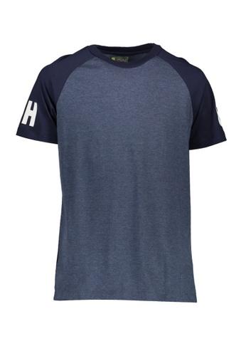 BENCH blue Short Sleeve Raglan Tee 45EF2AA7B2FBBEGS_1