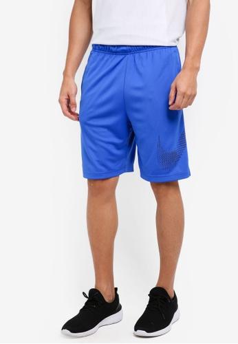 Nike blue Men's Nike Dry Training Shorts NI126AA0STVNMY_1