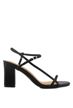 717e3971a61d ... RM 133.90 Available in several sizes · Rubi black Hannah Thin Strap  Heels 9BD39SHAFB6DCAGS 1