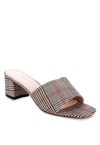 ABOUT A GIRL beige Heeled Slides 9DAB3SHD00285BGS_1