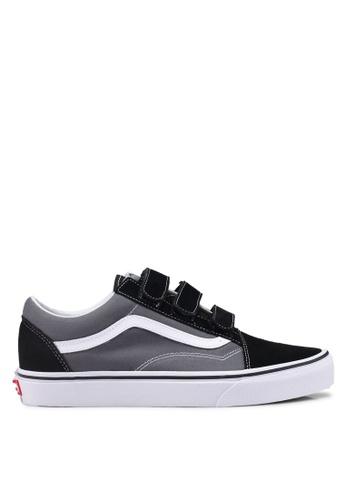 VANS grey Old Skool V Sneakers 6733DSH6B1732FGS_1