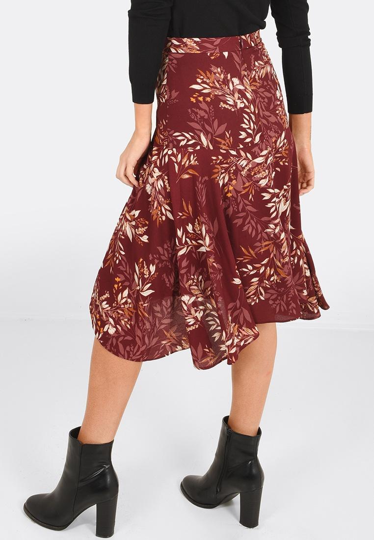 Gianna Midi FORCAST Raspberry Gianna Raspberry Raspberry FORCAST FORCAST Skirt Skirt Midi Midi Skirt Gianna 8T68Ivq