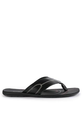 CARVIL black Sandal Casual Men Fiberco-01M 6FF33SH51480FFGS_1