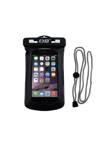Overboard black Waterproof Phone Case - Small 0E1B7ACC3ABA47GS_1