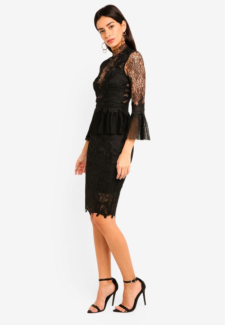 Lace Bardot Dress Black Dress Black Frankie Frankie Bardot Lace Frankie TYdaqW8