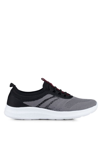 Spiffy black Ladies Sport Shoes D37FCSH30BB585GS_1
