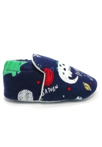Aikaydan green and blue and multi AIKAYDAN Dinosaur shoes CAC16KSADA0E9AGS_1