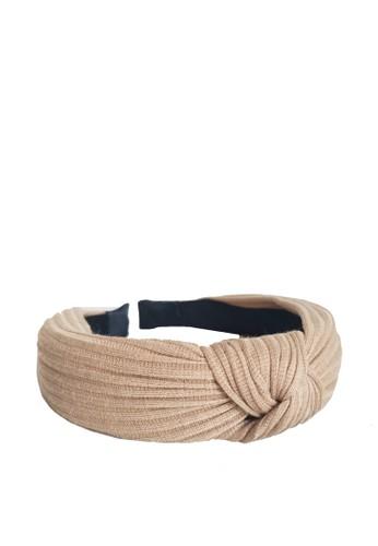 LOOP AND HOOP brown Korean style bandana A2E14BE6608446GS_1