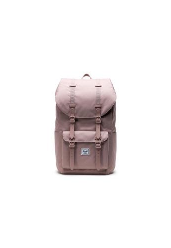 Herschel pink Herschel Little America - Ash Rose Backpack C34B6ACE9DA00DGS_1