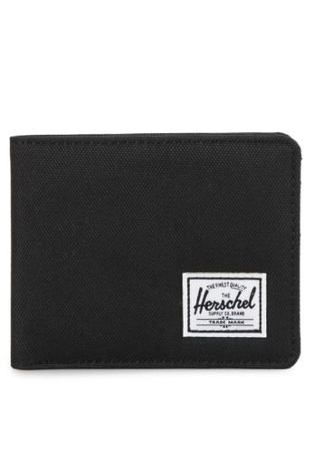 Herschel black Roy Wallet 2E925ACD56F499GS_1