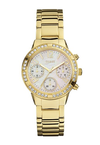 Guess Watch gold Guess Jam Tangan Wanita - Gold - Stainless Steel - W0546L2 65705ACD181072GS_1
