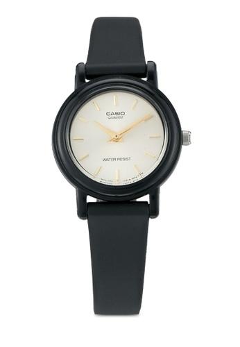 Casio black Casio Classic Women's Black Resin Strap Watch CA843AC0T0YOMY_1