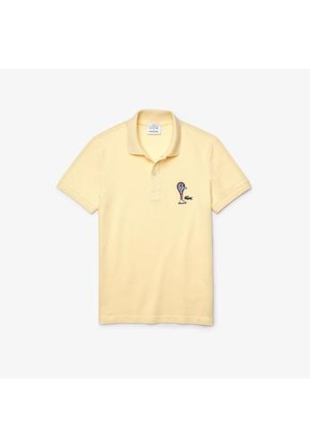 Lacoste Lacoste Unisex Lacoste x Jeremyville Design Classic Fit Polo Shirt 56186AA1D598D8GS_1