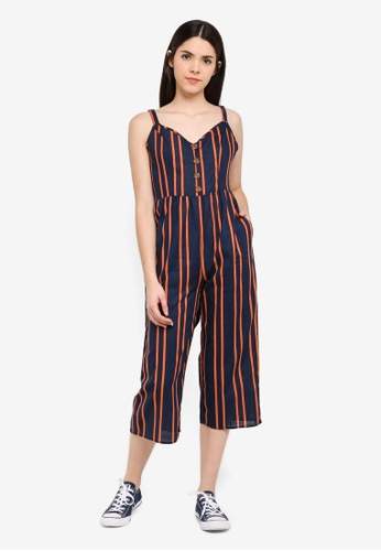 05e9e10e865 Shop Cotton On Woven Toni Strappy Jumpsuit Online on ZALORA ...