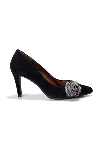 Shu Talk black LeccaLecca Gorgeous Floral charms Pointy Heels C4BD3SH5865869GS_1