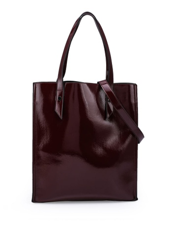 Keddo red Zoey Tote Bag CF8A6AC0A4266FGS_1