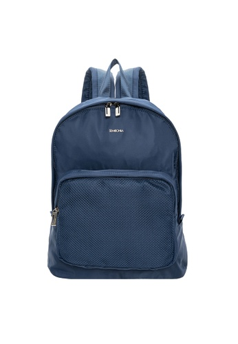 SEMBONIA blue Men Mesh Backpack 71AFBAC358EEBBGS_1
