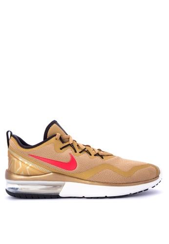 Nike red and gold Men's Nike Air Max Fury Running Shoes NI126SH0KPXQPH_1
