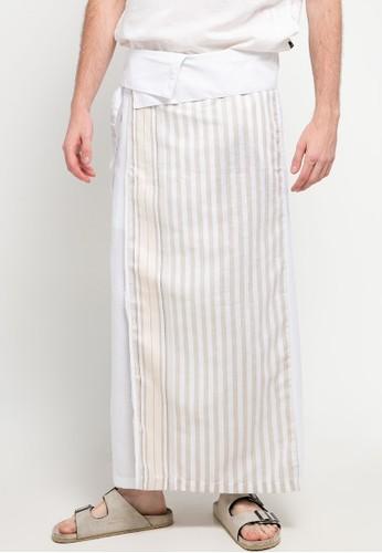 Manzone white SHAROENG AL RAFA-WHITE Trouser CCB87AA5C22313GS_1