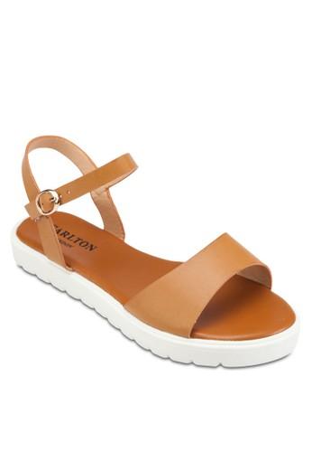 Plesprit sgatform Sandals, 女鞋, 鞋