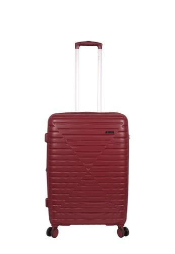 Elle red Elle Trolley Case 31253 - 24 inch Burgundy 4F980AC5F66D01GS_1