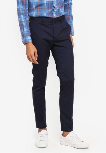 River Island 海軍藍色 Ultra Skinny Navy Entry Trousers 97DD8AA059E29CGS_1